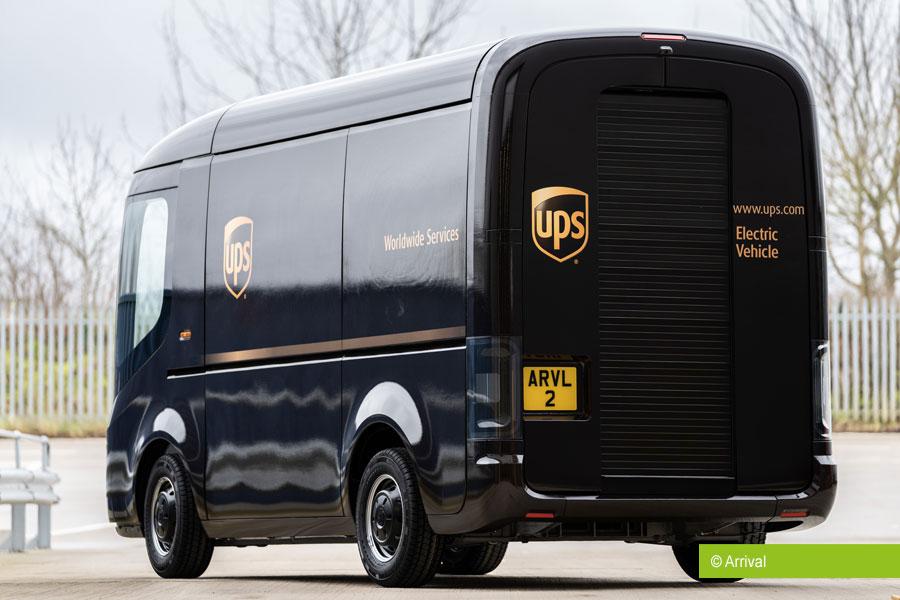 UPS ordert 10.000 Elektro-Transporter